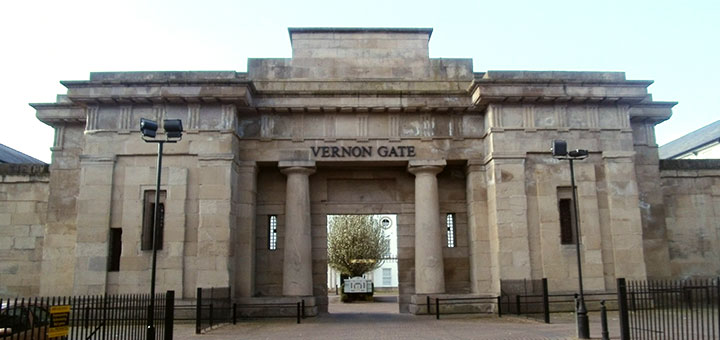 Vernon Gate Frontage