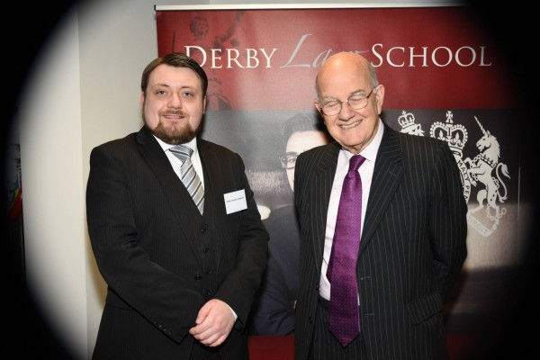 Philip Gordon Cowburn (Left) and Lord Judge (Right) (Credit: Tyler Hobbs Photography)